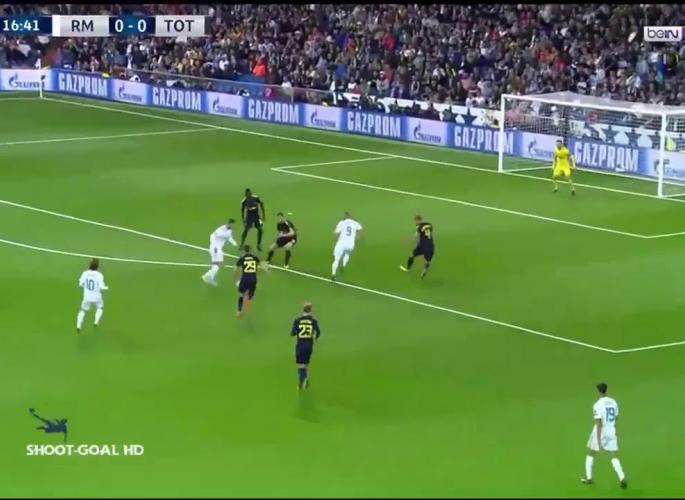 Embedded thumbnail for Real Madrid - Tottenham 1-1
